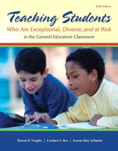 Teaching Students Who are Exceptional, Diverse, and At Risk in the General Education Classroom, Video-Enhanced Pearson eText -- Access Card (6th Edition) by Sharon R. Vaughn (2013-03-09)