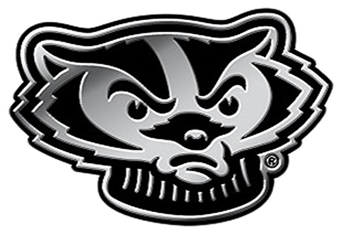 wisconsin badgers auto decal - 7