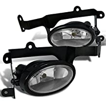 Spec-D Tuning LF-CV062OEM-RS Honda Civic 2Dr Si Oem Clear Fog Lights Lamps