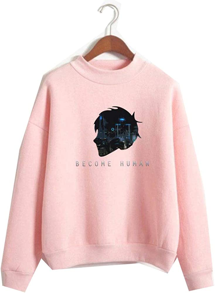 biaohe Detroit Become Human Fation Casual and Daily wear Detroit Pink XS