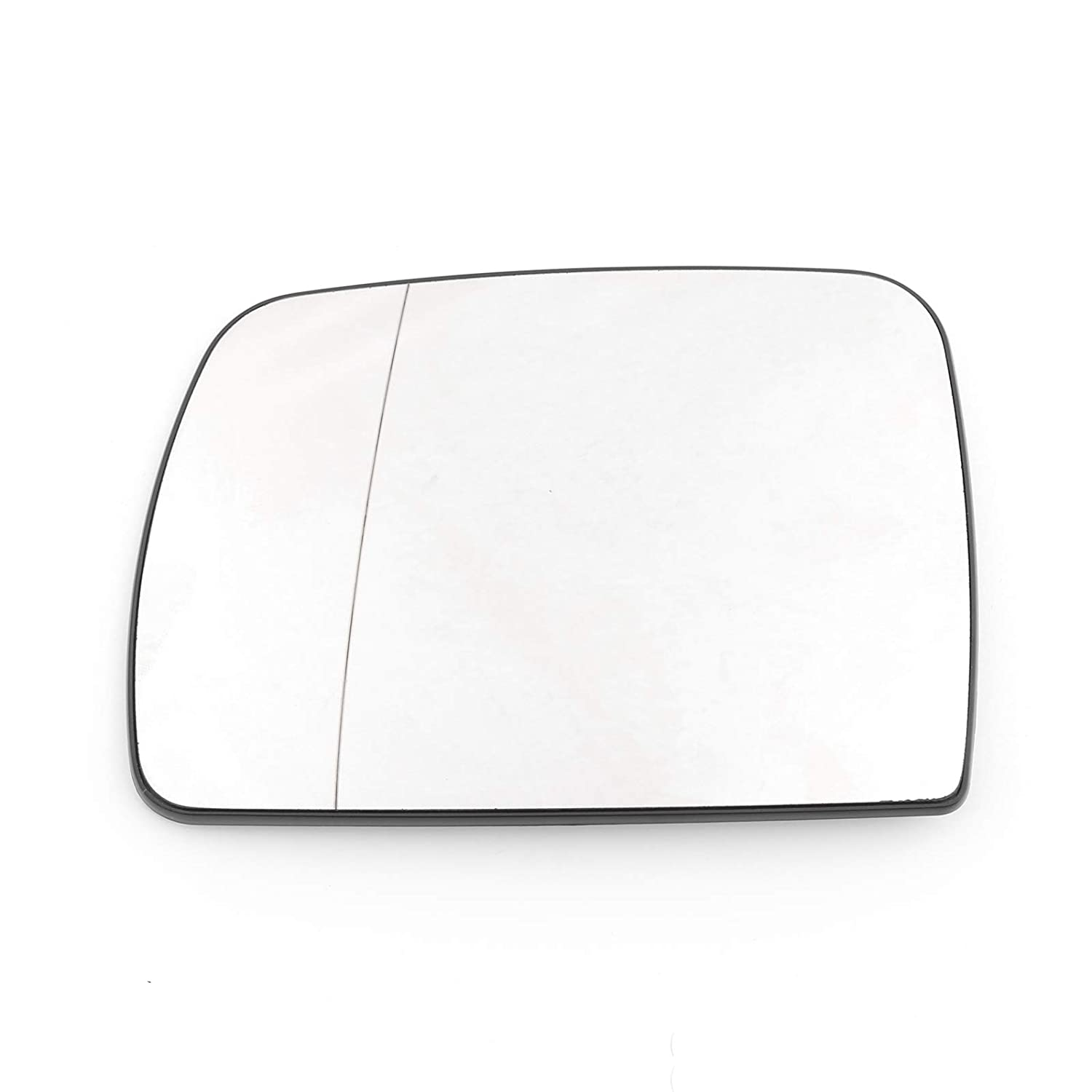 Areyourshop Pair Heated Door Blue Mirror Glass and Backing Plate For 99-2006 X5 E53