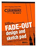 Clearprint 3020 Bond Pad with Printed Fade-Out 10x10 Grid, 20 lb., 8-1/2 x 11 Inches, 50 Sheets, White, 1 Each (937811P1)