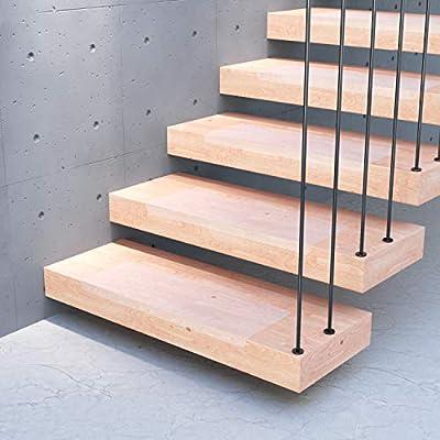 13x alfombrillas para peldaños STAIR PROTECT Sossai® | 20 x 65 cm | Protección transparente para escaleras | Easy Clean | Autoadhesiva: Amazon.es: Bricolaje y herramientas
