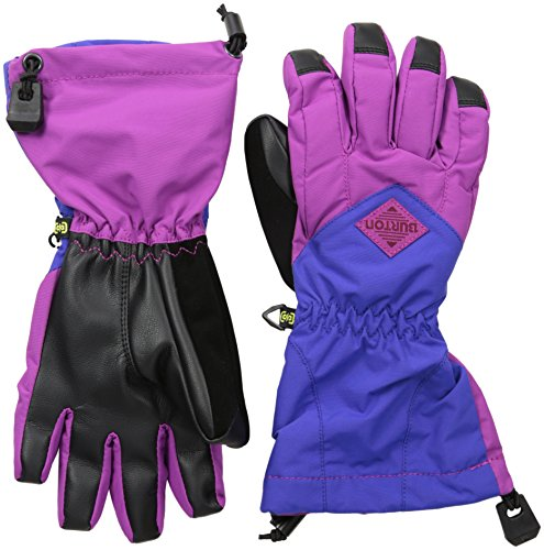 Burton Kids' Insulated, Warm and Waterproof Profile Gloves with Touchscreen, Grapeseed/Sorcerer, Medium