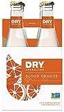 DRY Sparkling Soda, Blood Orange, 12 oz Bottles (Pack of 4)