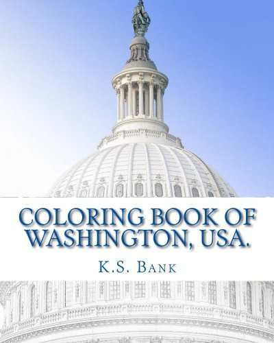 Read Online Coloring Book of Washington, USA. pdf epub