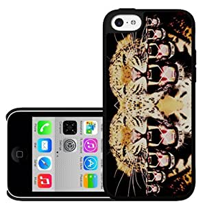 Hipster Tiger Abstract Art Hard Snap on Phone Case (iPhone 5c)