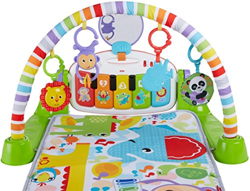 51aeqDpm6UL - Fisher-Price Deluxe Kick 'n Play Piano Gym