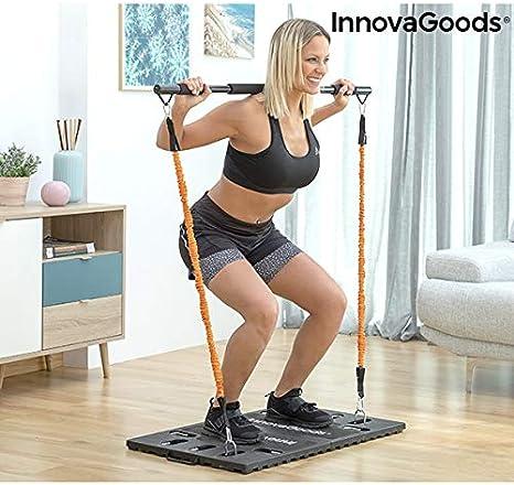 InnovaGoods Sistema de Entrenamiento Integral Portátil con Guía de Ejercicios Gympak MAX - Fitness, Gym en casa, Adultos Unisex,: Amazon.es: Deportes y aire libre