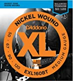 Best Bass Strings - D'Addario EXL160BT Nickel Wound Bass Guitar Strings, Balanced Review
