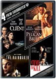 4 Film Favorites John Grisham ( The Client / The Rainmaker / The Pelican Brief / A Time to Kill )