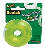 Scotch Magic Tape Donut Dispenser, 3/4 x 300 Inches (155)