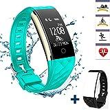 Fitness Tracker Heart Rate Monitor, REDGO Activity Health Tracker Waterproof Smart Wristband