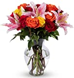 Benchmark Bouquets Big Blooms, With Vase (Fresh Cut Flowers)