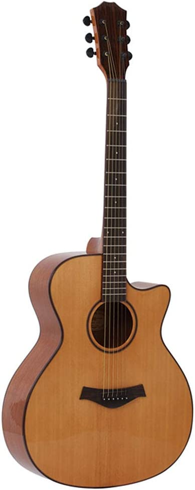 NUYI Guitarra Acústica De Cuerdas De Acero De 40 Pulgadas Ingman ...
