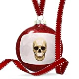 Christmas Decoration Low Poly zoo Animals Skull Ornament