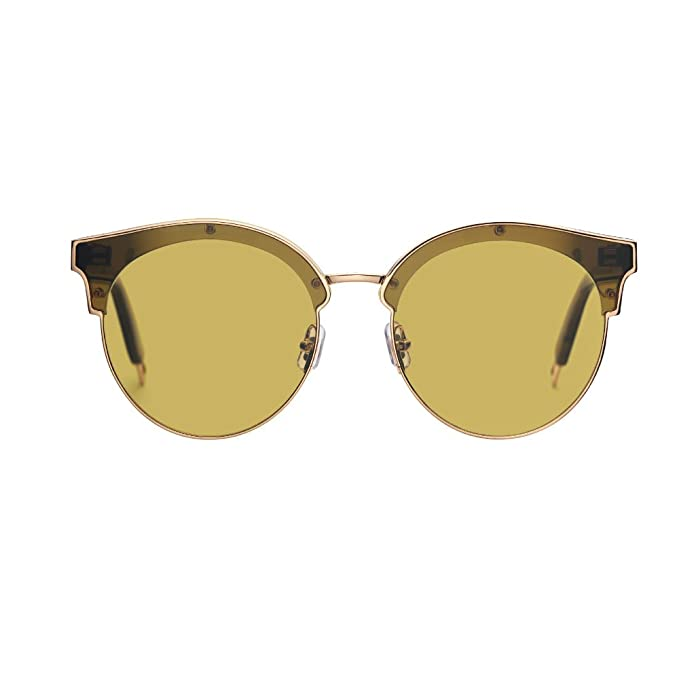 716b91028a Gentle Monster Sunglasses Sign of Two K3 Gold Flatba Genuine  Amazon.ca   Clothing   Accessories