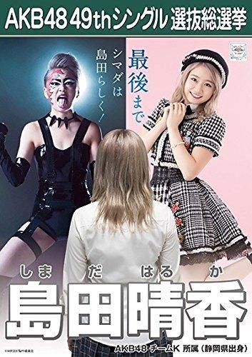 00d02704620 【島田晴香 AKB48 チームK】 AKB48 願いごとの持ち腐れ 劇場盤 特典 49thシングル