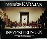 Front cover for the book Herbert von Karajan Inszenierungen by Gisela Prossnitz