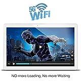 alldocubeUSA iPlay 10.6 1920 X 1080 IPS Screen 5GHz+2.4Ghz WIFI MT8163 64-Bit Quad core 1.3Ghz Android 6.0 HDMI Output Table White Silver