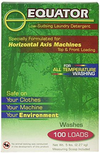 Equator Low Sudsing Biodegradable Laundry Detergent