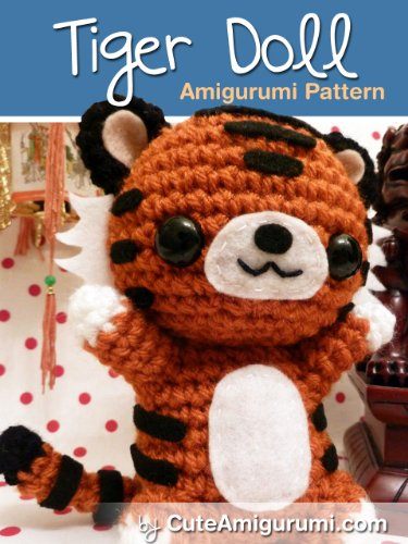 Amazon Tiger Doll Amigurumi Pattern Crochet Pattern Books