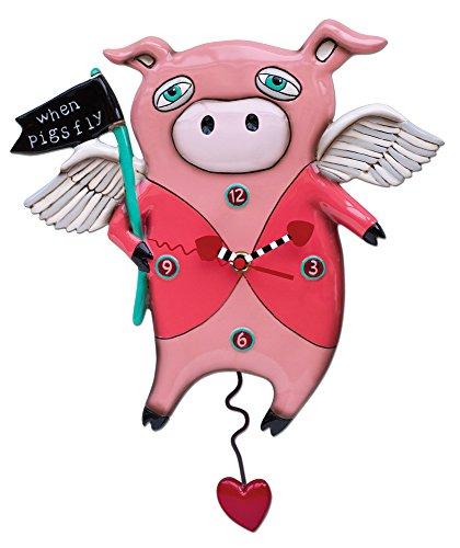 (Allen Designs When Pigs Fly Pendulum Clock)