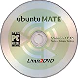 ubuntuMATE 17.10 - Latest Feature Release Edition of Ubuntu with the MATE Desktop Environment, 64bit Boot / Install