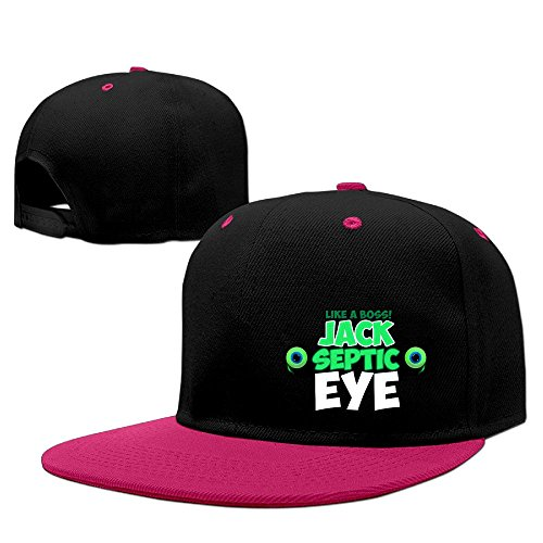[Hip Hop JACKSEPTICEYE Plain Knit Hats] (Jumbo Hip Hop Adult Hat)