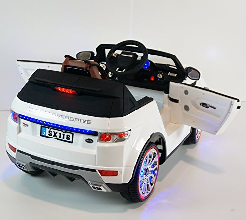 range rover style ride on toy car remote control 12volts battery operated 4kids kids cars. Black Bedroom Furniture Sets. Home Design Ideas