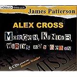 """Morgen Kinder wird's was geben: Alex Cross-Reihe - Teil 1, verfilmt unter """"Im Netz der Spinne"""", 6 CDs."""