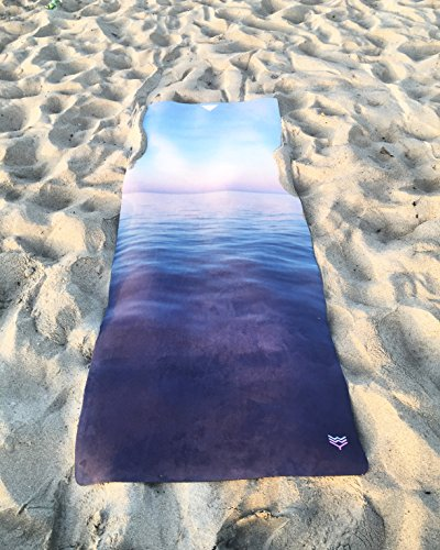 Blanco Wave Yoga mar de Cortez Eco Pro Yoga Mat, 100% libre ...
