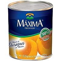 Maxima Premium Durazno Mitades, 820 g