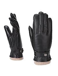 MoDA Men's Mr. Davenport Men's Genuine Leather Gloves