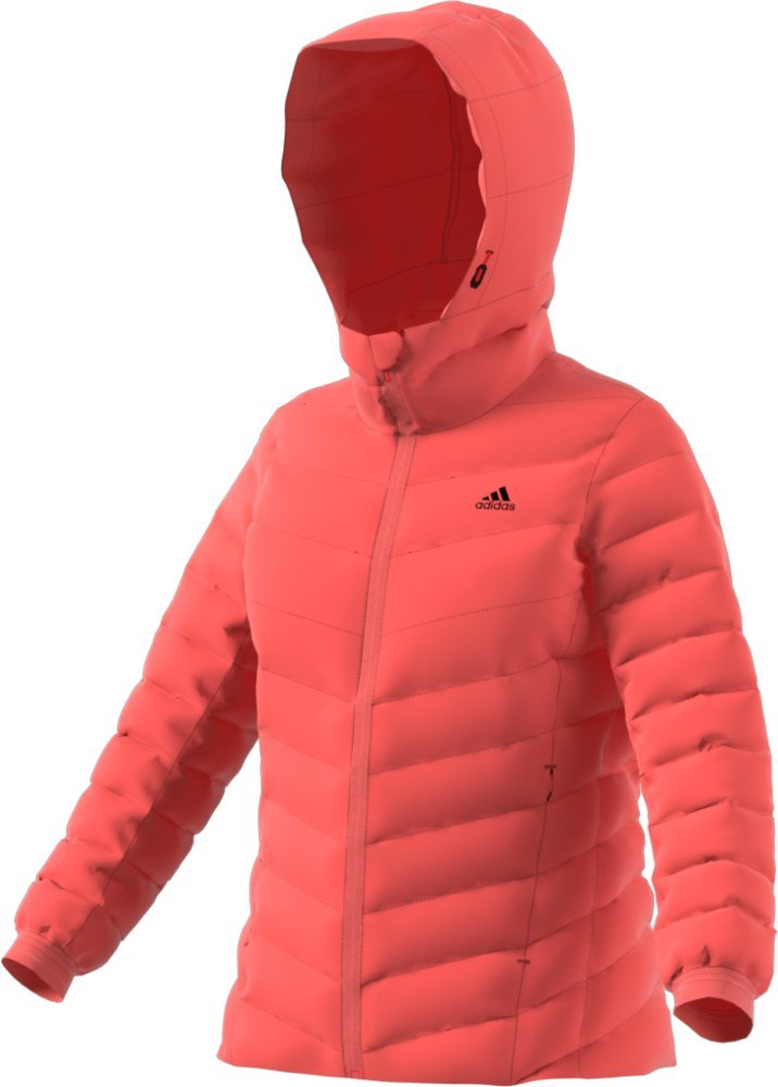 adidas outdoor Womens Climawarm Soft Down Jacket (L - Easy Coral/Easy Coral)