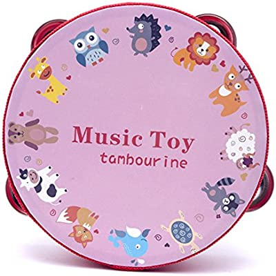 luvay-tambourine-with-head-red-zoo