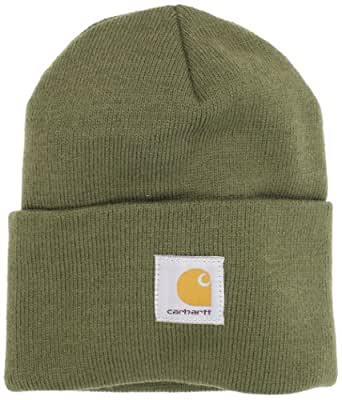 Carhartt Men's Acrylic Watch Hat,Army Green,One Size