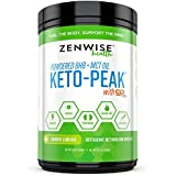Keto BHB Salts + MCT Oil Powder - Ketogenic Diet Supplement with goBHB+MCT - Beta Hydroxybutyrate Exogenous Ketones + C8 & C10 Triglycerides - Ketosis + Energy - Smooth Lime