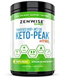 Keto BHB Salts + MCT Oil Powder - Ketogenic Diet Supplement with goBHB+MCT™ - Beta Hydroxybutyrate Exogenous Ketones + C8 & C10 Triglycerides - Ketosis + Energy & Weight Loss - Smooth Lime -12.5 OZ