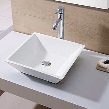 Decor Star Cb 006 Bathroom Porcelain Ceramic Vessel Vanity