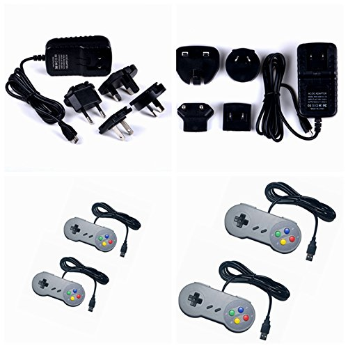 Raspberry Pi Retro Gamepads Kit with 5 inch Monitor, Pre-Installed Emulators. For Nintendo NES, NEOGEO, MAME, GAMEBOY, SEGA, NINTENDO SUPER and so on. by CQRobot (Image #6)
