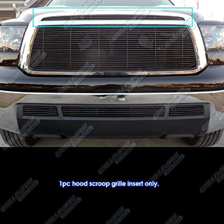 APS T66838H Black Powder Coated Grille Bolt Over for select Toyota Tundra Models