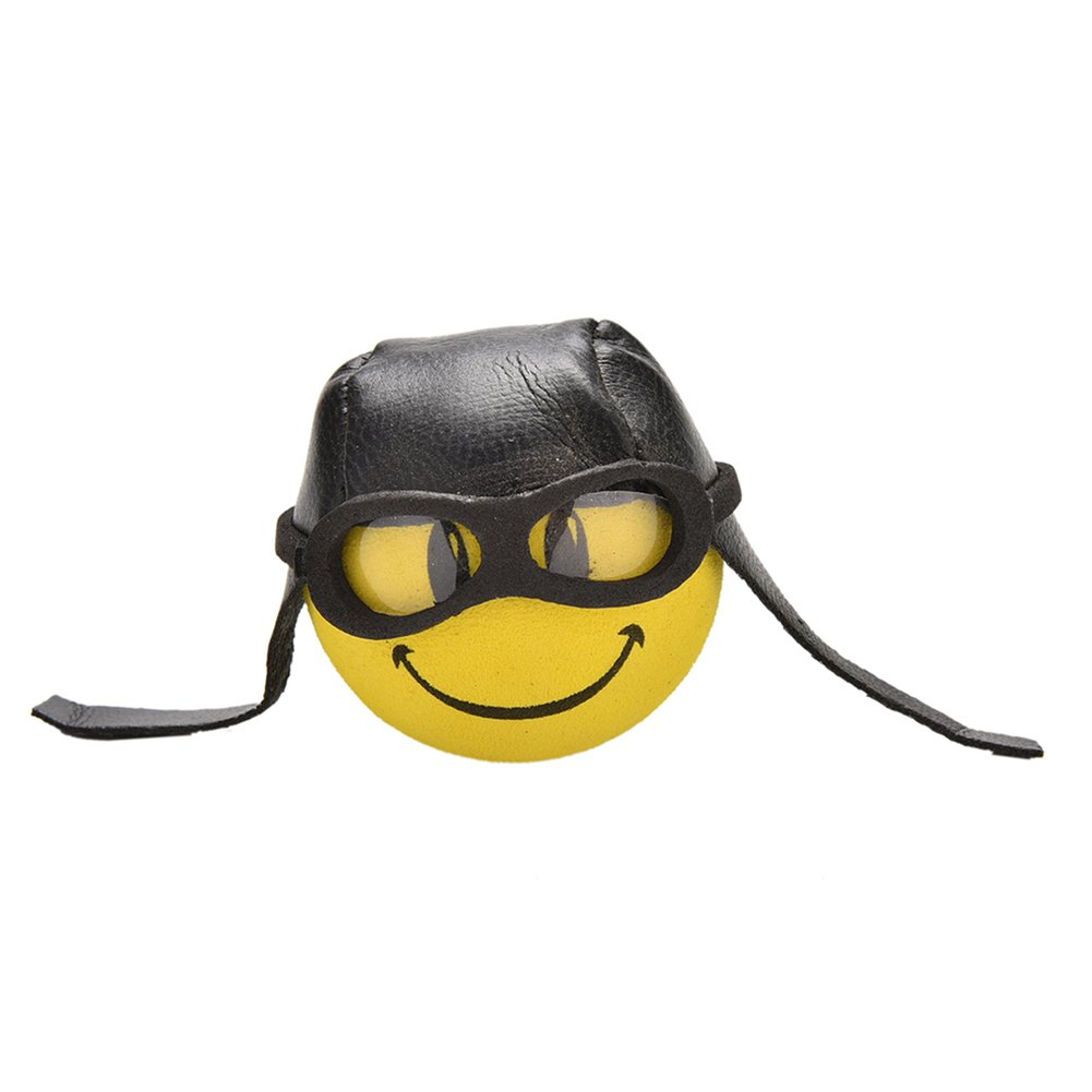 Car Styling Yellow Funny Cartoon Doll Antenna Balls Plush EVA Foam Aerial EVA