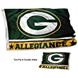 WinCraft Green Bay Packers Double Sided Allegiance Flag Review