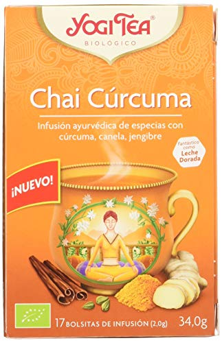 Yogi Tea Yogi Tea - Infusion Ayurvedica - Chai Curcuma - 17 Bolsitas 30 g