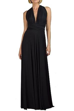 VonVonni Women\'s Transformer Dress Black One Size Fits USA 2-10 at ...