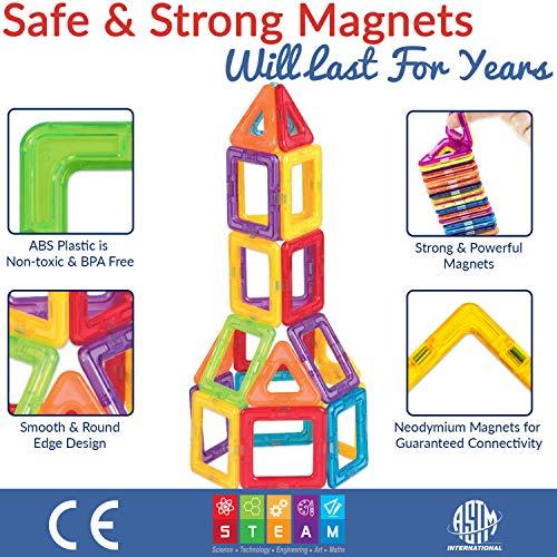 Unique Travel Series Construction Toys for... Limmys Magnetic Building Blocks