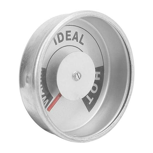 Mootea Termómetro, aleación de Aluminio Vivienda termómetro del ...