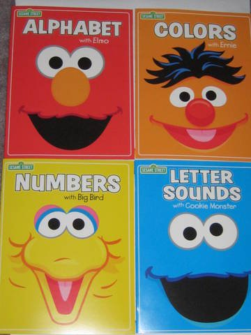 Sesame Street Elmo Alphabet, Ernie Colors, Cookie Monster Letter Sounds & Big Bird Numbers - Big Bird Alphabet