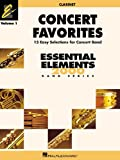img - for Concert Favorites Vol. 1 - Bb Clarinet: Essential Elements 2000 Band Series book / textbook / text book